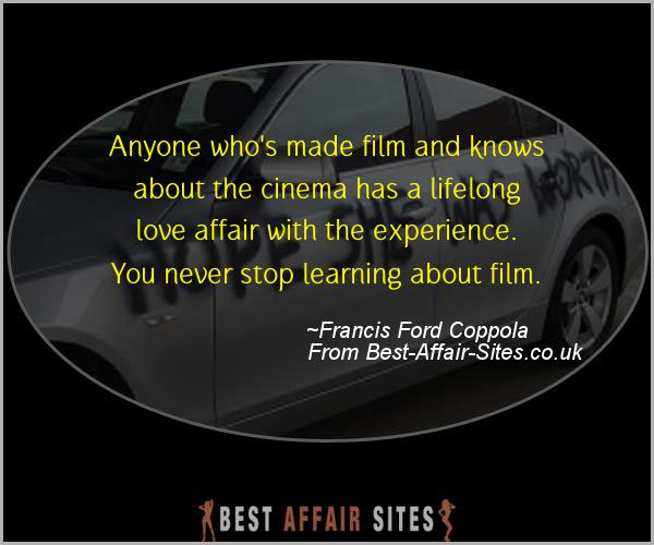 Having An Affair Quote - Francis Ford Coppola - Quotes quote image