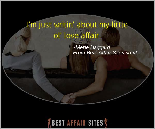 Having An Affair Quote - Merle Haggard - Quotes quote image
