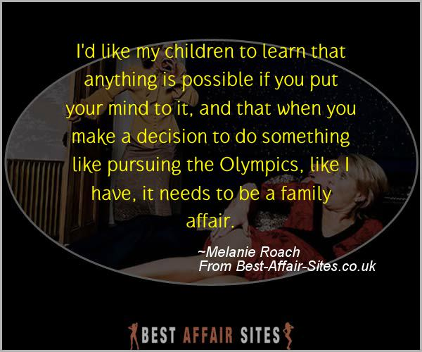 Having An Affair Quote - Melanie Roach - Quotes quote image