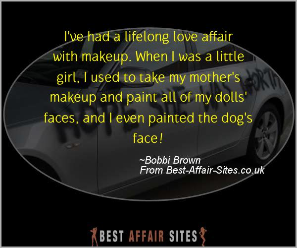 Having An Affair Quote - Bobbi Brown - Quotes quote image