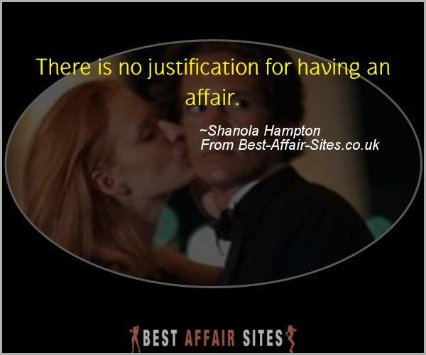 Having An Affair Quote - Shanola Hampton - Quotes quote image