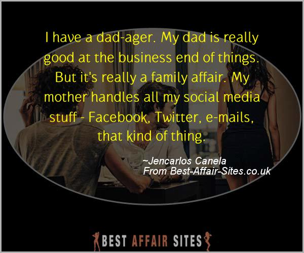 Having An Affair Quote - Jencarlos Canela - Quotes quote image