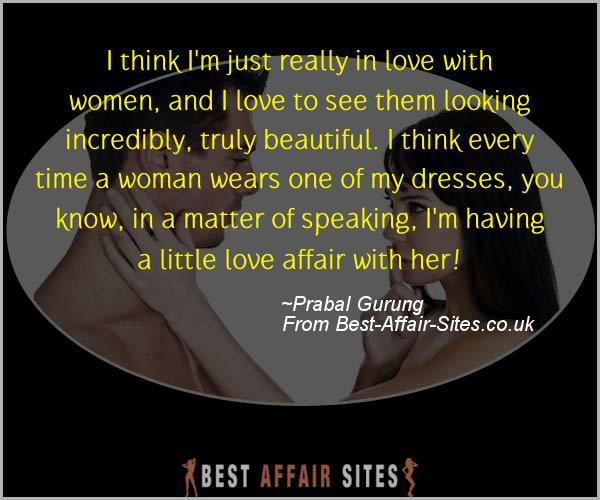 Having An Affair Quote - Prabal Gurung - Quotes quote image