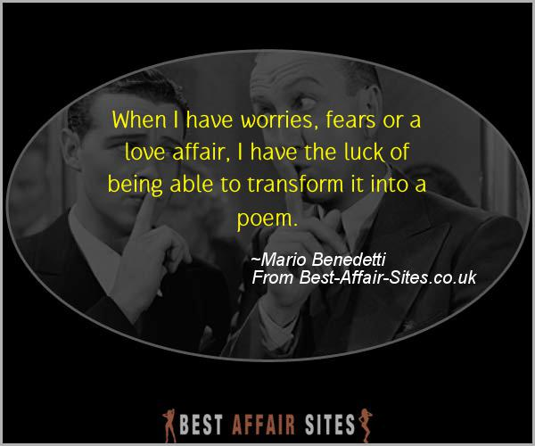 Having An Affair Quote - Mario Benedetti - Quotes quote image