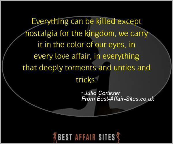Having An Affair Quote - Julio Cortazar - Quotes quote image