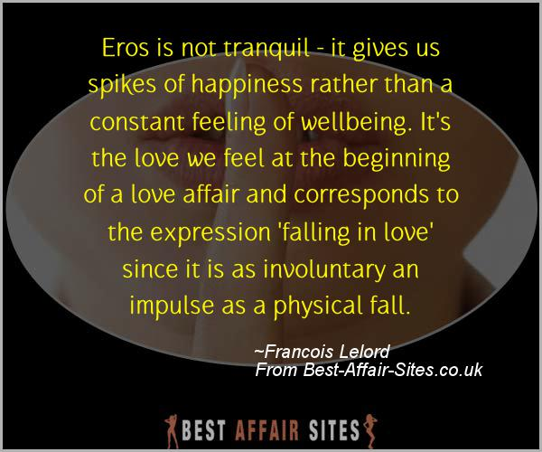 Having An Affair Quote - Francois Lelord - Quotes quote image
