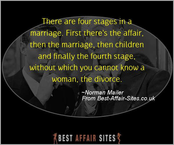 Having An Affair Quote - Norman Mailer - Quotes quote image