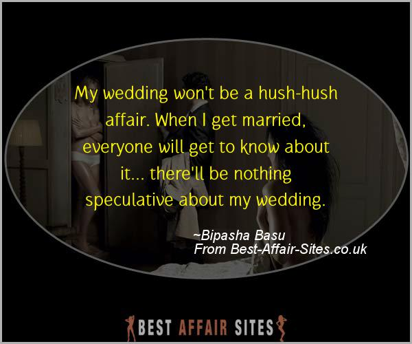 Having An Affair Quote - Bipasha Basu - Quotes quote image